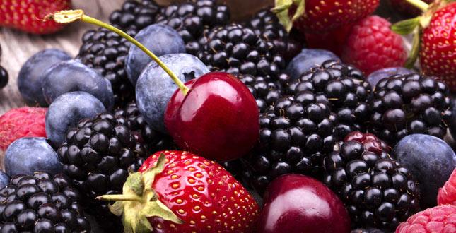 gezonde bessen & fruit